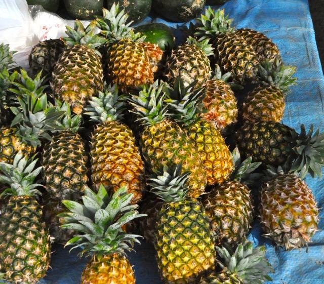 It's pineapple time on Okinawa