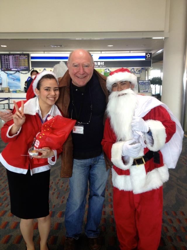 Xmas at Naha airport