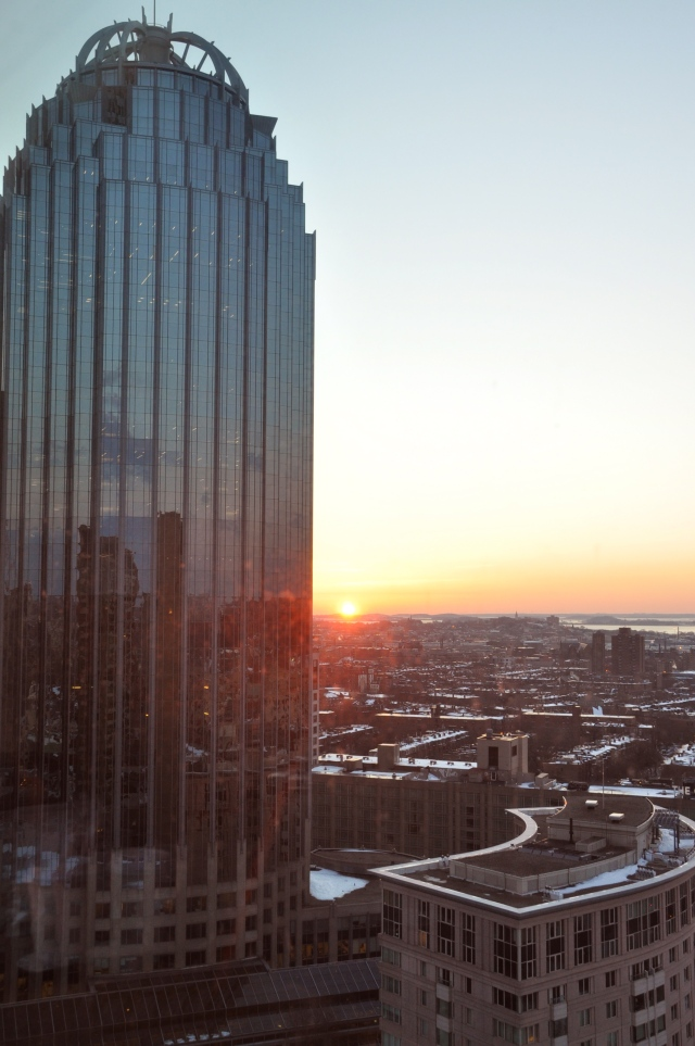 Boston dawn