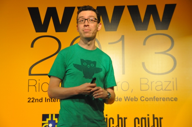 Luis Von Ahn Very funny and smart man.