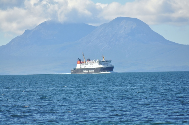 The Islay boat