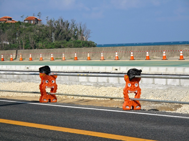 Okinawan roadworks