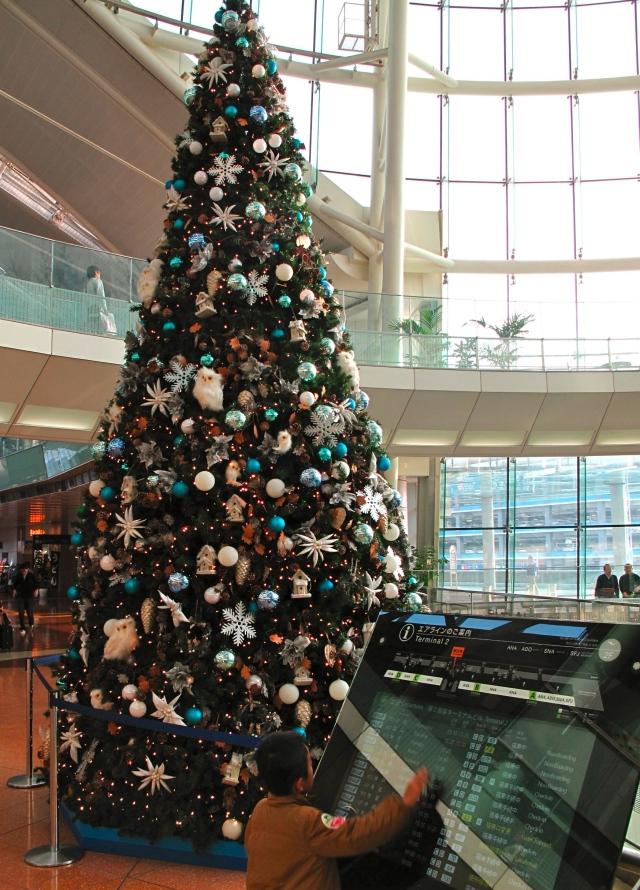 It's Christmas at Haneda
