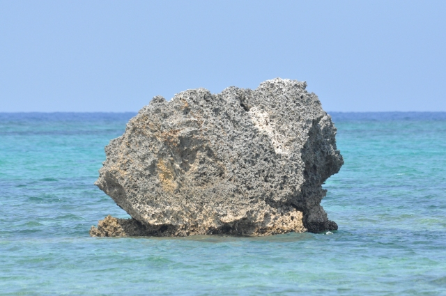 This is one of the rocks just offshore from my house
