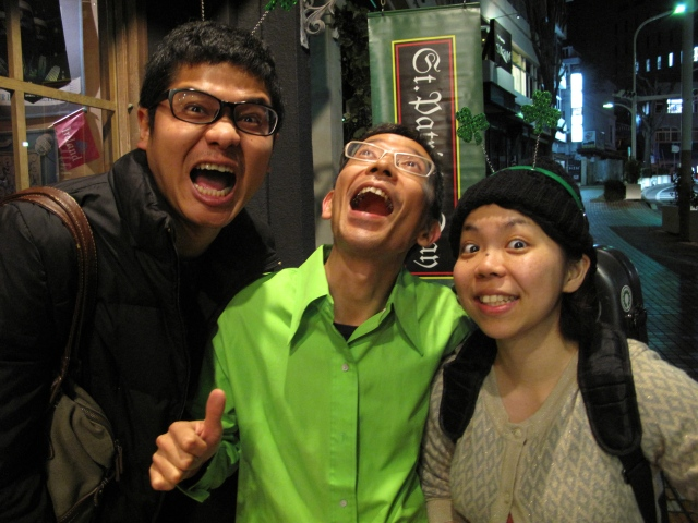 Okinawans love to have a good time.
