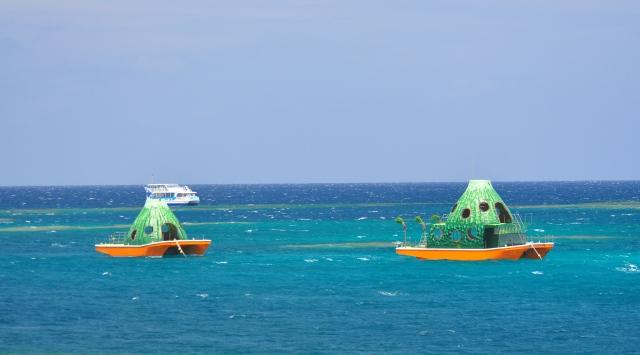 Floating pumpkins?