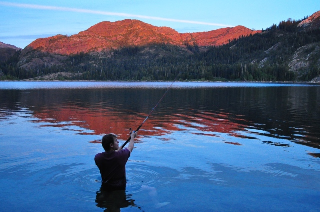 Ben immerses himself in freezing mountain lake to banish lustful thoughts