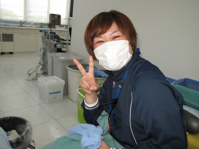 Satoko san, the Hollywood nurse.
