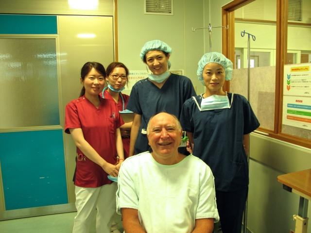 The anaesthetics team