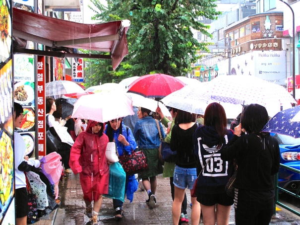 The Japanese are masters of umbrella protocol