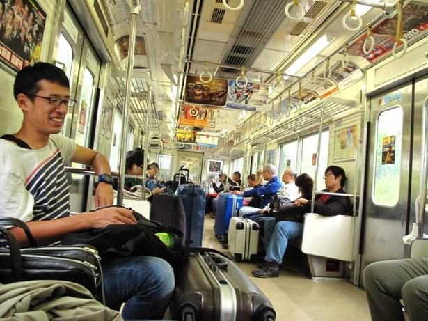 Last train to Narita.