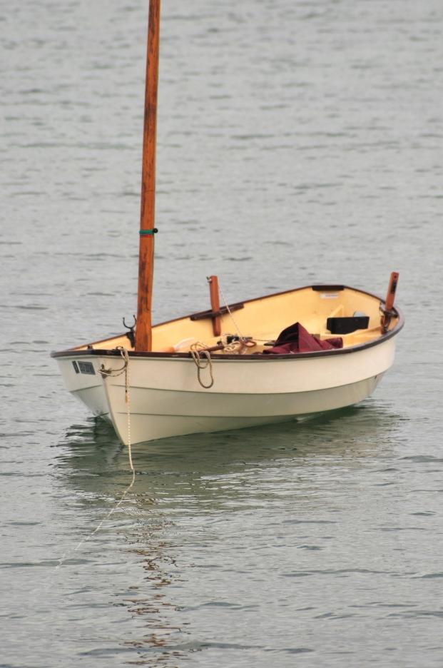 Boat from deck. Hooray.