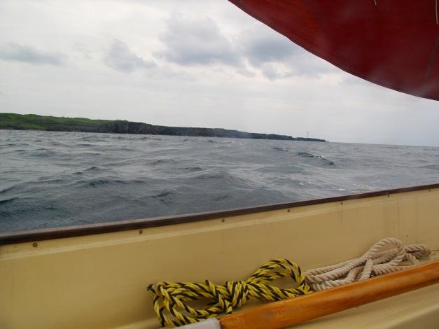 Cape Zampa off the port bow