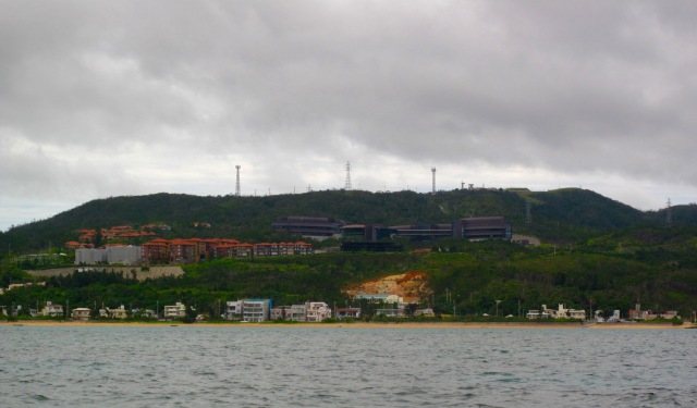 The University from the sea